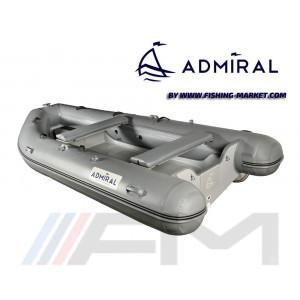 ADMIRAL - RIB надуваема лодка с твърдо дъно и кил Base 350 Grey