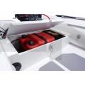ADMIRAL - RIB надуваема лодка с твърдо дъно и кил Complete 410 Console-Seatbox Marine Blue/White
