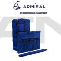 ADMIRAL - Надуваема моторна лодка с твърдо дъно и надуваем кил AM-375S - светло сива