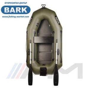 BARK - Надуваема гребна лодка с твърдо дъно и транец B-210CN