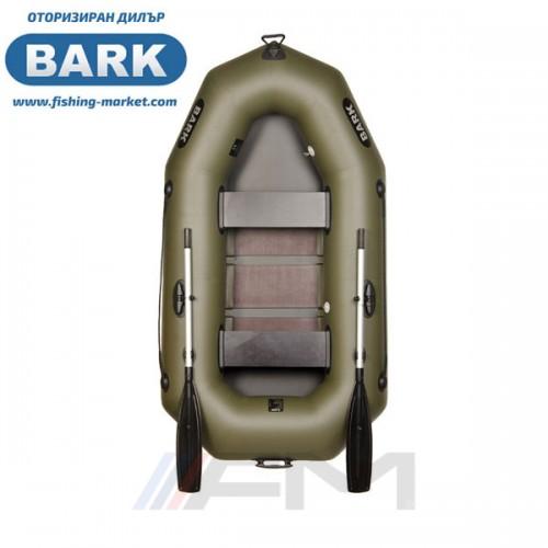 BARK - Надуваема гребна лодка с твърдо дъно B-230C