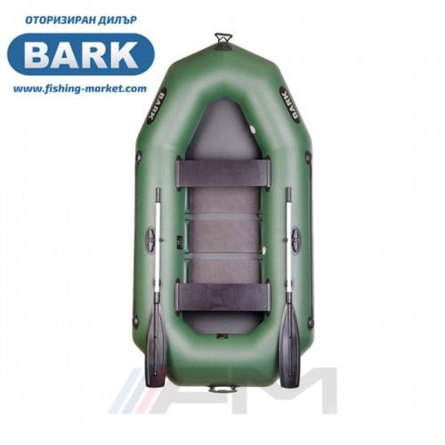 BARK - Надуваема гребна лодка с твърдо дъно B-250C