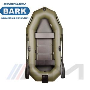 BARK - Надуваема гребна лодка с твърдо дъно и транец B-260N