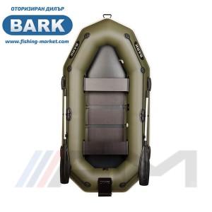 BARK - Надуваема гребна лодка с твърдо дъно и транец B-260NP
