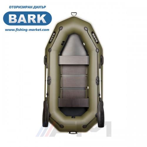 BARK - Надуваема гребна лодка с твърдо дъно B-260P