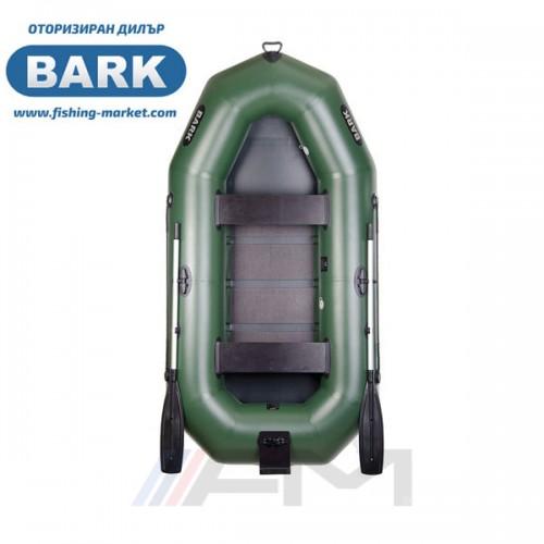 BARK - Надуваема гребна лодка с твърдо дъно и транец B-270N