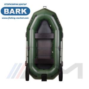BARK - Надуваема гребна лодка с твърдо дъно и транец B-270NP