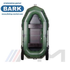 BARK - Надуваема гребна лодка с твърдо дъно B-270P