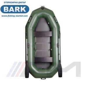 BARK - Надуваема гребна лодка с твърдо дъно B-280