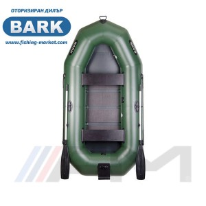BARK - Надуваема гребна лодка с твърдо дъно и транец B-280N