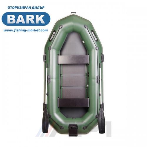 BARK - Надуваема гребна лодка с твърдо дъно и транец B-280NP