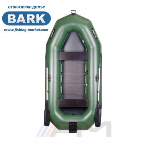 BARK - Надуваема гребна лодка с твърдо дъно и транец B-300N