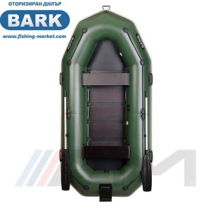 BARK - Надуваема гребна лодка с твърдо дъно и транец B-300NP Light Grey