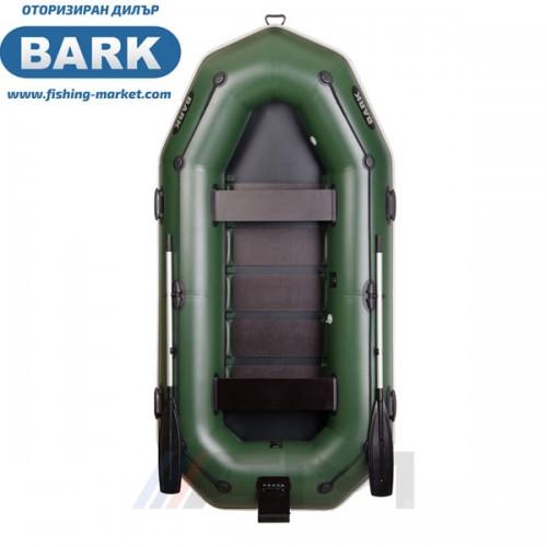 BARK - Надуваема гребна лодка с твърдо дъно и транец B-300NP