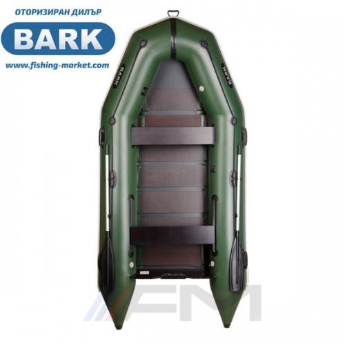 BARK - Надуваема моторна лодка с твърдо дъно BT-330 Light Grey
