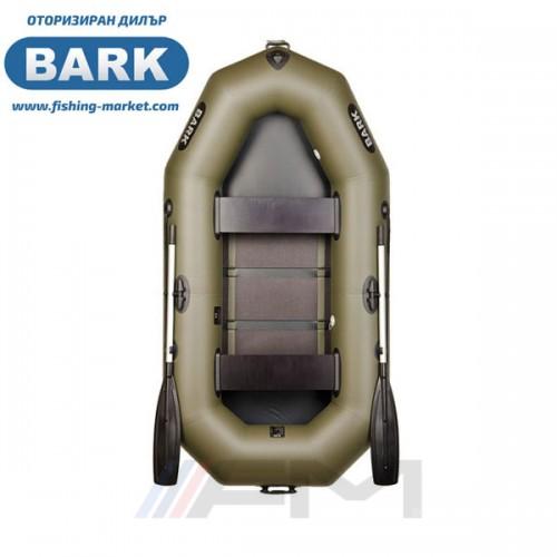 BARK - Надуваема гребна лодка с твърдо дъно B-240C