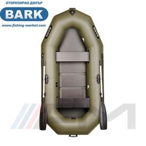 BARK - Надуваема гребна лодка с твърдо дъно B-260