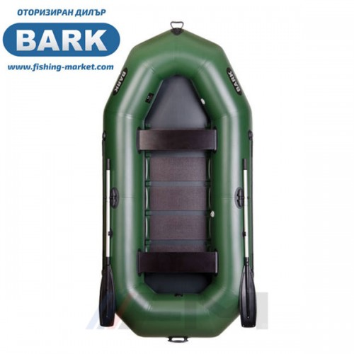 BARK - Надуваема гребна лодка с твърдо дъно B-300