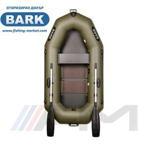 BARK - Надуваема гребна лодка с твърдо дъно B-220C