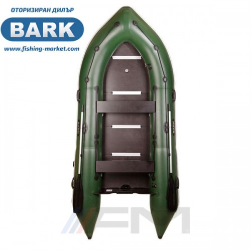 BARK - Надуваема моторна лодка с твърдо дъно и надуваем кил BN-360S