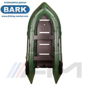BARK - Надуваема моторна лодка с твърдо дъно и надуваем кил BN-390S