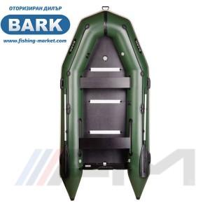 BARK - Надуваема моторна лодка с твърдо дъно и надуваем кил BT-330S Light Grey