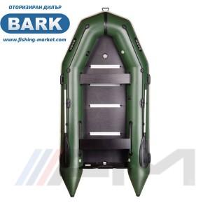 BARK - Надуваема моторна лодка с твърдо дъно и надуваем кил BT-360S Light Grey