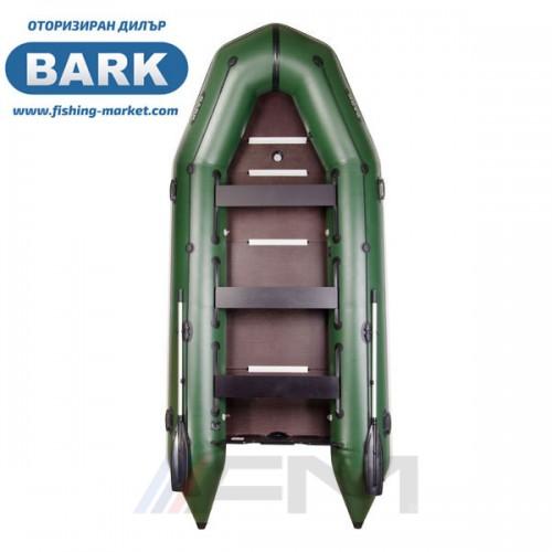 BARK - Надуваема моторна лодка с твърдо дъно и надуваем кил BT-420S