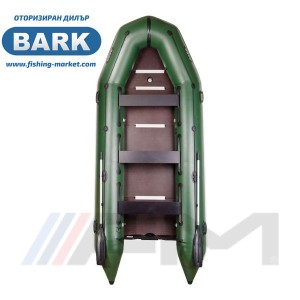 BARK - Надуваема моторна лодка с твърдо дъно и надуваем кил BT-450S Light Grey