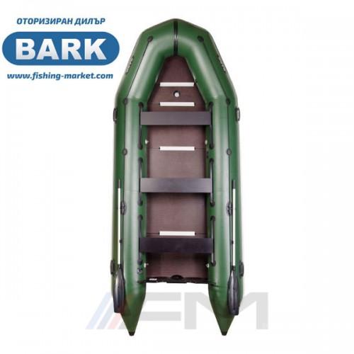 BARK - Надуваема моторна лодка с твърдо дъно и надуваем кил BT-450S