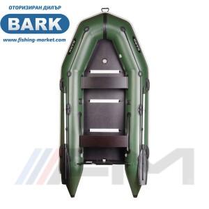 BARK - Надуваема моторна лодка с твърдо дъно и надуваем кил BT-310S Light Grey