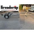 BRENDERUP Колесар за лодка с подвижни ролки Basic 500 - 375 kg