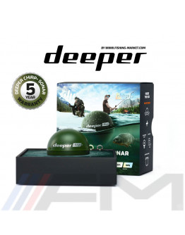DEEPER Smart Sonar CHIRP+ - Безжичен трилъчев сонар Wi-Fi / GPS / BG Menu