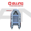 ELLING - Надуваема моторна лодка с твърдо дъно Forsag F270C - зелена