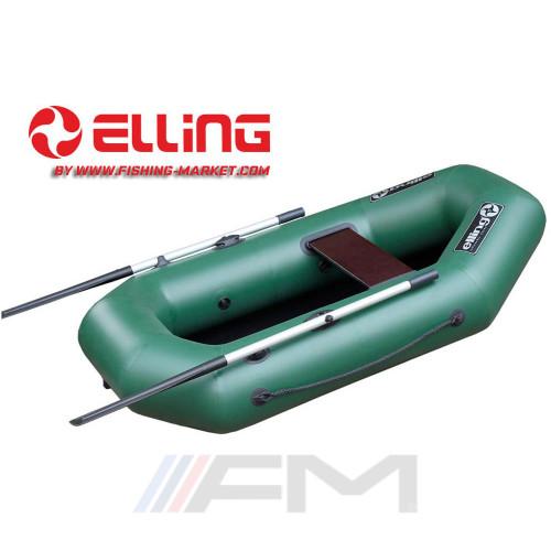 ELLING - Надуваема гребна лодка с твърдо дъно Navigator N190CM - зелена
