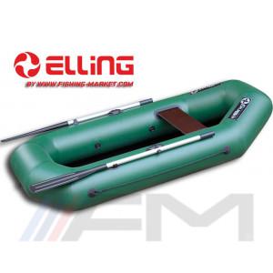 ELLING - Надуваема гребна лодка с твърдо дъно Navigator N222CM - тъмно сива