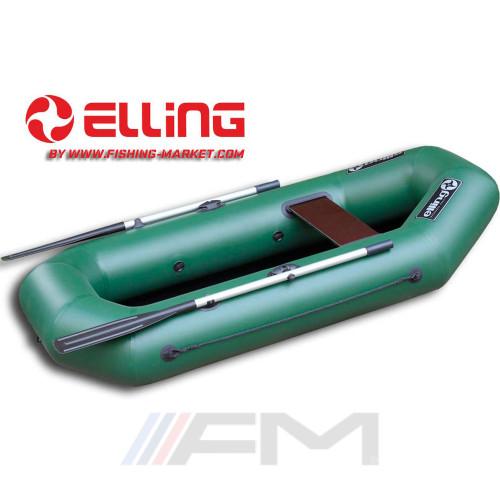 ELLING - Надуваема гребна лодка с твърдо дъно Navigator N222CM - зелена