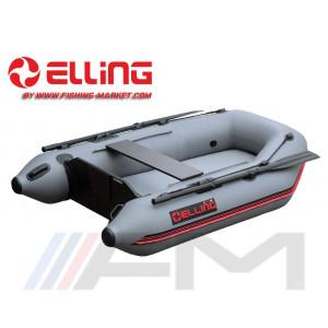 ELLING - Надуваема моторна лодка с твърдо надуваемо дъно Tender T200AIR - тъмно сива