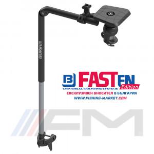 FASTen Стойка за сонда и сонар с монтажна система за каяк Fts450 - 45 cm / черна ALP