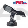 FASTen Стойка за въдица в комплект с монтажна основа за надуваем PVC борд HTp213 - черна