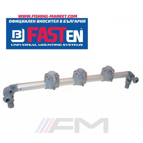 FASTen Платформа с 3 универсални модула за аксесоари  Gr610-3 / сива ALA