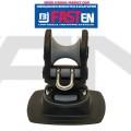 FASTen Ролка за котва до 8 kg. в комплект с монтажна основа за надуваем PVC борд Arp002 - черна