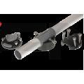 FASTen Комплект за тръбен монтаж с 1 универсално гнездо FMr132 - черно