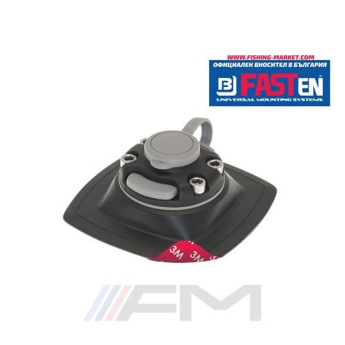 FASTen Монтажна основа с 3М двойно залепващо FMs224 - черна