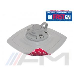 FASTen Монтажна основа с 3М двойно залепващо FMs225 - сива