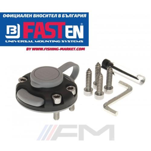 FASTen Универсална монтажна ключалка Fs219 - черна