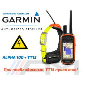 GARMIN Alpha® 100 Bulgaria в комплект с TT15 OFRM Lifetime