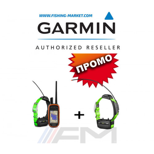 GARMIN Alpha® 100 Bulgaria в комплект с две TT15 каишки OFRM Lifetime
