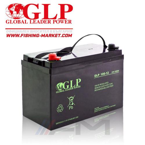 Акумулаторна тягова батерия GLP AGM - 100Ah 12V