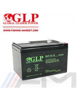 Акумулаторна тягова батерия GLP AGM - 12Ah 12V